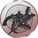 Emblem Pistole, 50mm Durchmesser