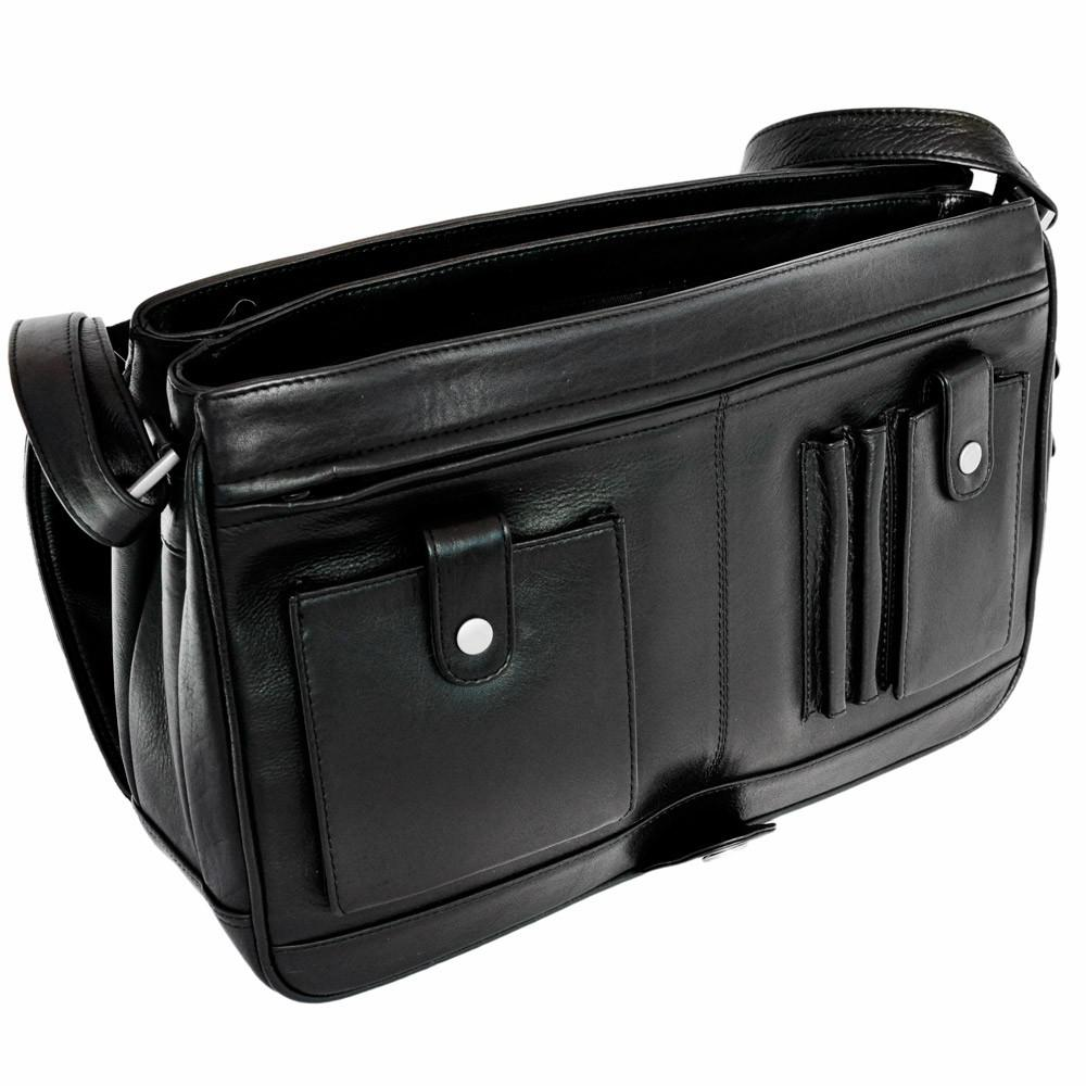 branco mittel gro e damen handtasche umh ngetasche aus leder schwarz modell 5584 kaufen. Black Bedroom Furniture Sets. Home Design Ideas