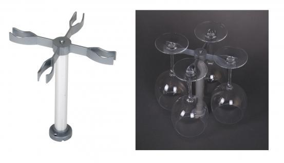 Universal Gläserprofi Glashalter für Geschirrspüler Geschirrkorb Spülmaschine