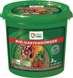 Greentower GT Bio Gartendünger Gartenduenger 3 Kg