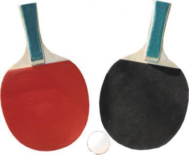 TT-SET Tischtennisset 50827 2schlaeger+ 3xbaelle