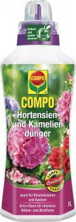Compo Hortensien- und Kameliendünger 22556 Hortensien DÜnger 1l