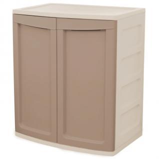 Universalschrank Badezimmerschrank Vorratsschrank Aufbewahrung Stecksystem