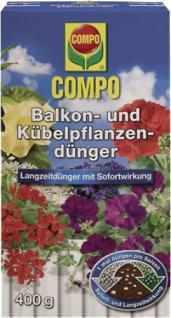 "Compo Balkon- und Kübelpflanzendünger ,, COMPO®"" 12096 Balkon-dÜnger 400 Gr."