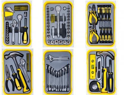 Werkzeugsets in verschiedenen Ausführungen
