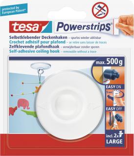 "Tesa POW.STRIPS-ZIMMERDECKEN-HAKEN Deckenhaken ,, Powerstrips®"" 58029"
