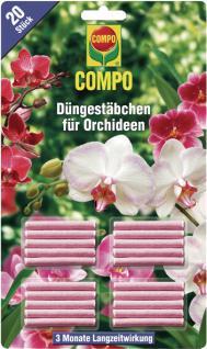 Compo Orchideen Düngestäbchen 11978 Duengestab Cdorch