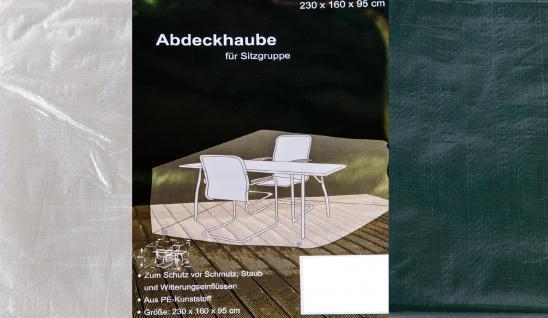 Abdeckhaube für Sitzgruppe 230 x160 x 95 cm Abdeckplane Witterungsschutz
