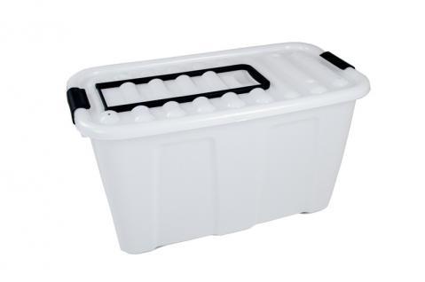 Jumbobox 70 Liter mit Deckel und Rollen