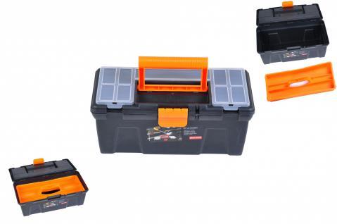 Werkzeugbox m Einsatz Werkzeugkasten Aufbewahrungsbox ca. 33x14x17 cm Werkstatt