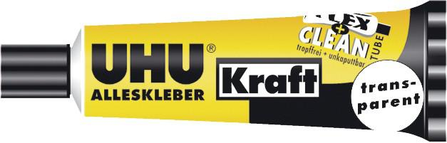 "UHU Alleskleber Kraft ,, FLEX+CLEAN"" 45 040 42 Gr"