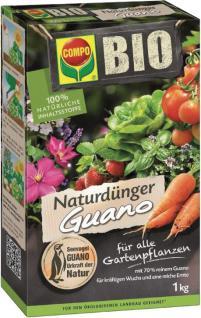Compo Naturdünger Guano 12401 Bio Natur GuanodÜnge 1kg