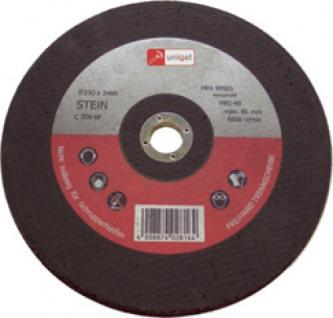 Uniqat TRENNSCHEIBE Trennscheiben für Stein 230mm