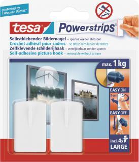 "Tesa POW.STRIPS-BILDER-NAGEL Bildernagel ,, Powerstrips®"" 58031"