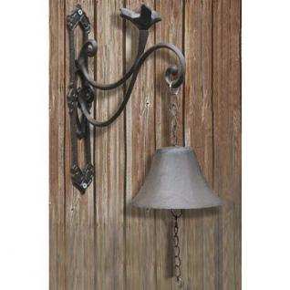 Türglocke Gusseisen Landhausstil Glocke Türklingel Antik Deko Türglocke Vogel