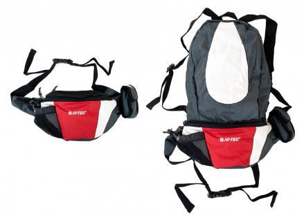 HI-TEC 2in1 Bauchtasche und Rucksack