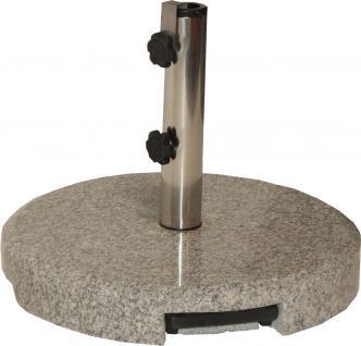 GRANITSTAENDER Granitständer 55779 40kg Grau M.teleskop