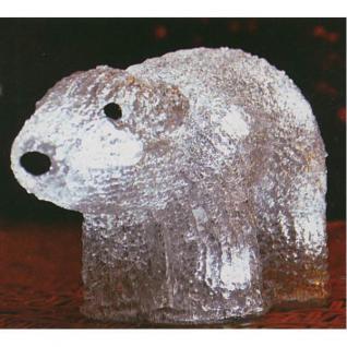 LED Dekofigur Eisbär