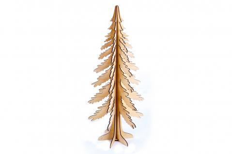 Weihnachtsbaum Holz 25x60cm Tannenbaum Weihnachtsdekoration Holzbaum Weihnachten