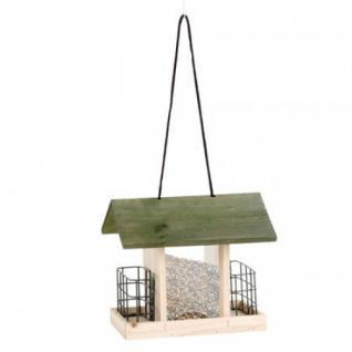 Grüner Jan Vogelfutterhaus aus Holz Vogelhaus Futterkrippe Vogelfutterstation