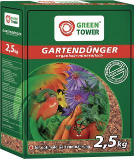 Greentower GT Gartendünger Karton 2, 5kg
