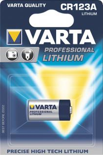 "Varta Professional Electronics Batterie ,, CR 123 A"" 6205 Photozelle Cr123a"
