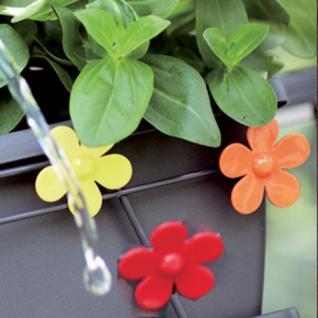 BALKONKASTEN Balkonkastenclip 1270140290100 Stecker 3er Blume
