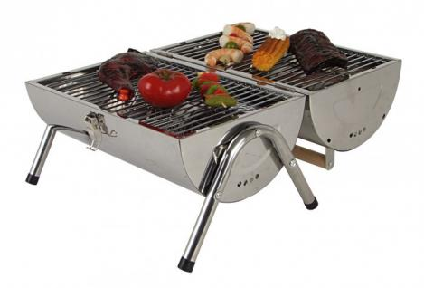 Barbecue Tischgrill Grilltonne