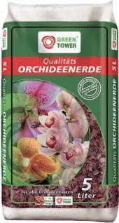 Greentower GREEN Qualitäts-Orchideenerde Tower Orchideen-erde 5ltr.