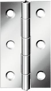 SCHARNIERE-EDELSTAHL Scharniere 010501Z Schmal 501 60mm