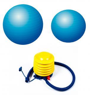 Joy Gymnastikball inkl. Luftpumpe 65 o.75 cm Fitnessball Sitzball