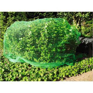 Vogelschutznetz 5 x 4 m grün engmaschig