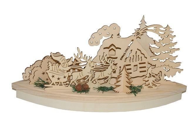 Wh holz winterlandschaft kaufen bei - Winterlandschaft dekoration ...