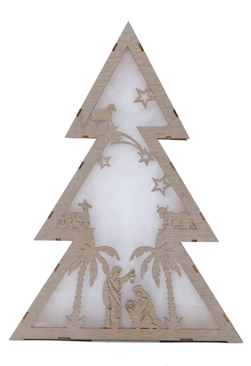 led holotanne holz weihnachtsbaum fensterdeko tannenbaum. Black Bedroom Furniture Sets. Home Design Ideas