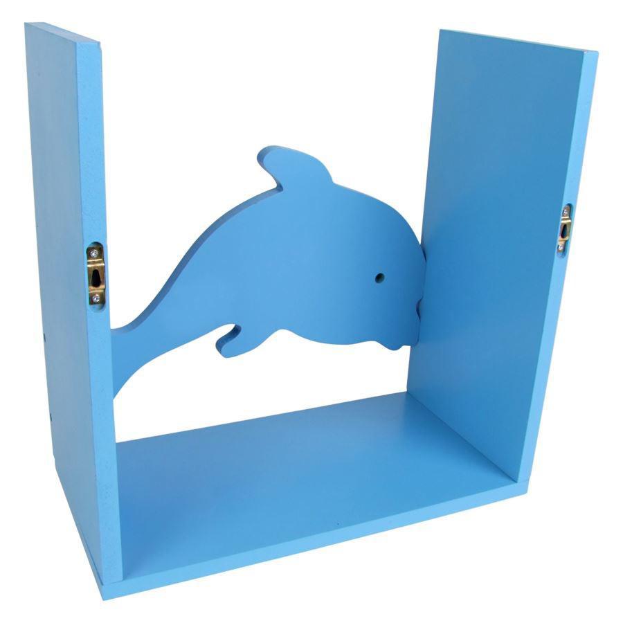 kinderregal delfin spielzeugregal wandregal regal kinderzimmer