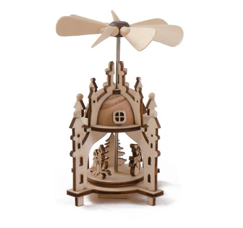 weihnachts pyramide aus holz 8x8x12 cm weihnachtsdeko pyramiden winterpyramide kaufen bei www. Black Bedroom Furniture Sets. Home Design Ideas