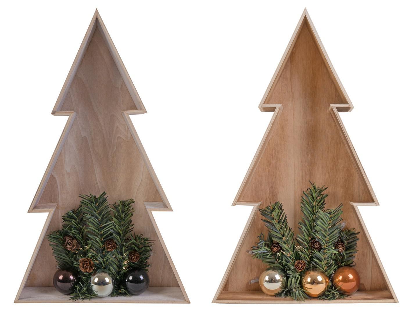 3d led holz weihnachtsbaum 38cm weihnachtsdeko fensterbild. Black Bedroom Furniture Sets. Home Design Ideas