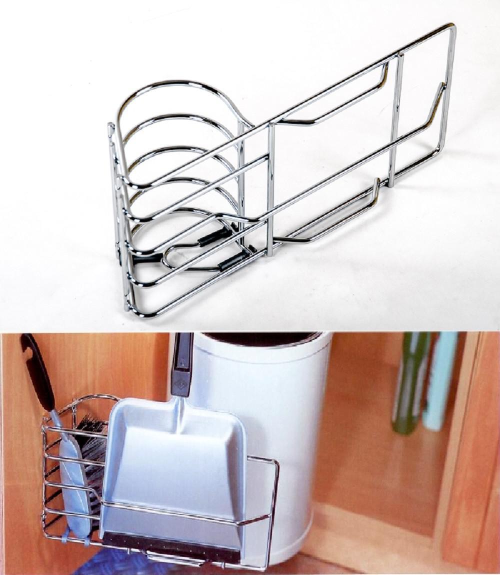 wesco kehrblech und handfegerhalter chrom kaufen bei www. Black Bedroom Furniture Sets. Home Design Ideas
