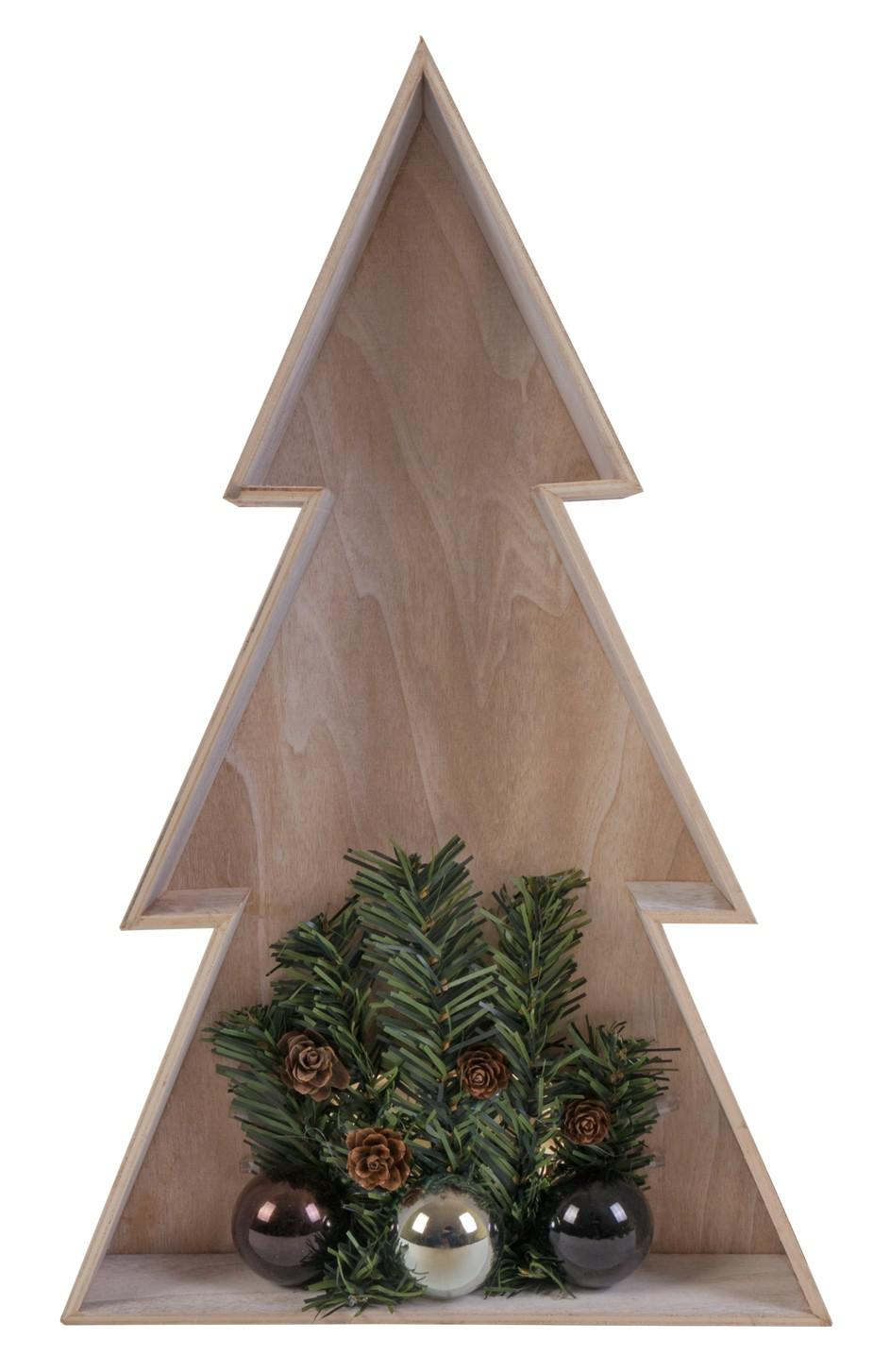 3d led holz weihnachtsbaum 38cm weihnachtsdeko fensterbild wanddeko beleuchtung kaufen bei www. Black Bedroom Furniture Sets. Home Design Ideas