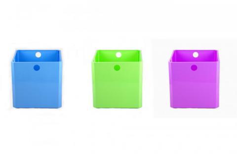 Modulbox 32x32x31cm diverse Farben Aufbewahrungsbox Stapelbox Aufbewahrung Box