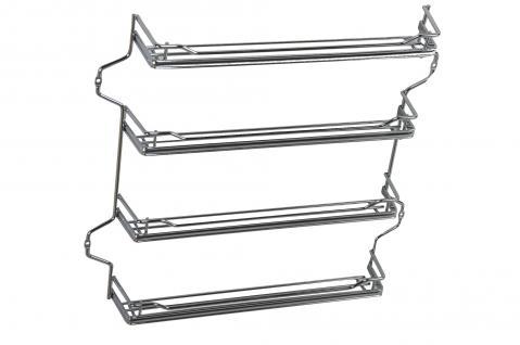 Wesco Gewürzbord Gewürzregal Einbau Küchenschrank B= 43, 5 cm Ablage Allzweckkorb