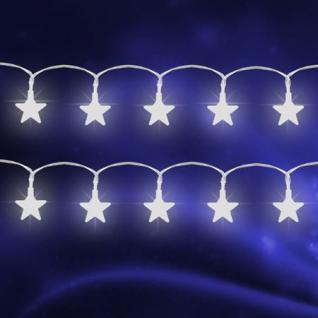 LED Sternenlichterkette Innen 10 Sternen Weihnachtsbeleuchtung Fensterdeko Deko