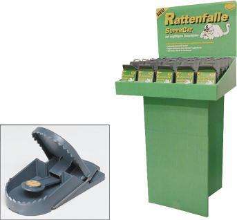 "RATTENFALLE Standdisplay ,, SuperCat"" 1020020 Sb"