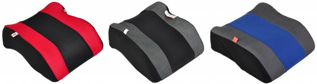 Auto Kindersitz Kissen Sunny Sitzerhöhung Hartschale 15 kg Autositz Kinderkissen