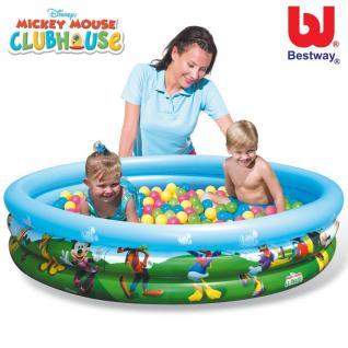 Bestway Bällebad 75 Spielbälle Kunststoffbälle Spielballpool Kinderplanschbecken