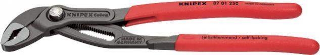 "Knipex WASSERPUNPENZANGE Wasserpumpenzange ,, Cobra®"" 8701SB Cobra 250mm"