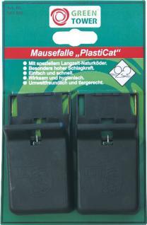 "Greentower GT Mausefalle ,, PlastiCat"" Plasticat Sb"