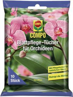 Compo Orchideen Tücher 10864 Orchideen-tÜcher 10st