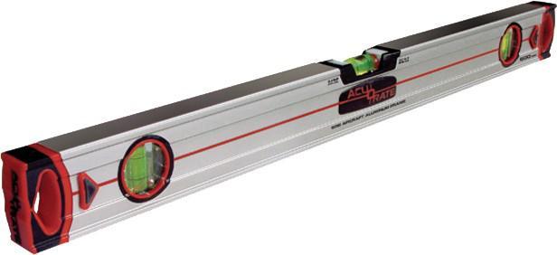 "WASSERWAAGE Profi ,, Acu 5"" Acu 5 80cm Magnet"