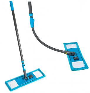 Wischmop Ultra-Flexibler Bodenwischer Mikrofaser Bodenreiniger Nassreiniger